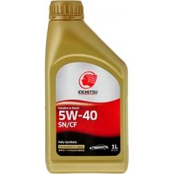 Масло моторное IDEMITSU SN/CF 5W40 синтетическое 1 л